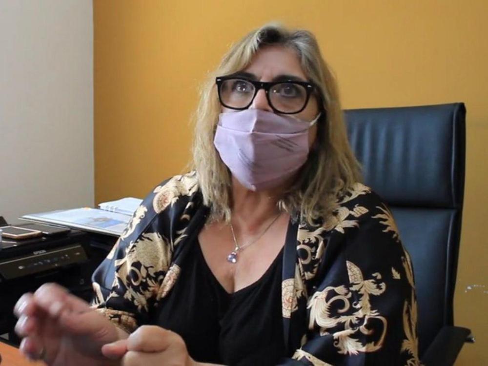 Coordinadora General del Ministerio de Seguridad, Arq. María Cecilia Barbesini