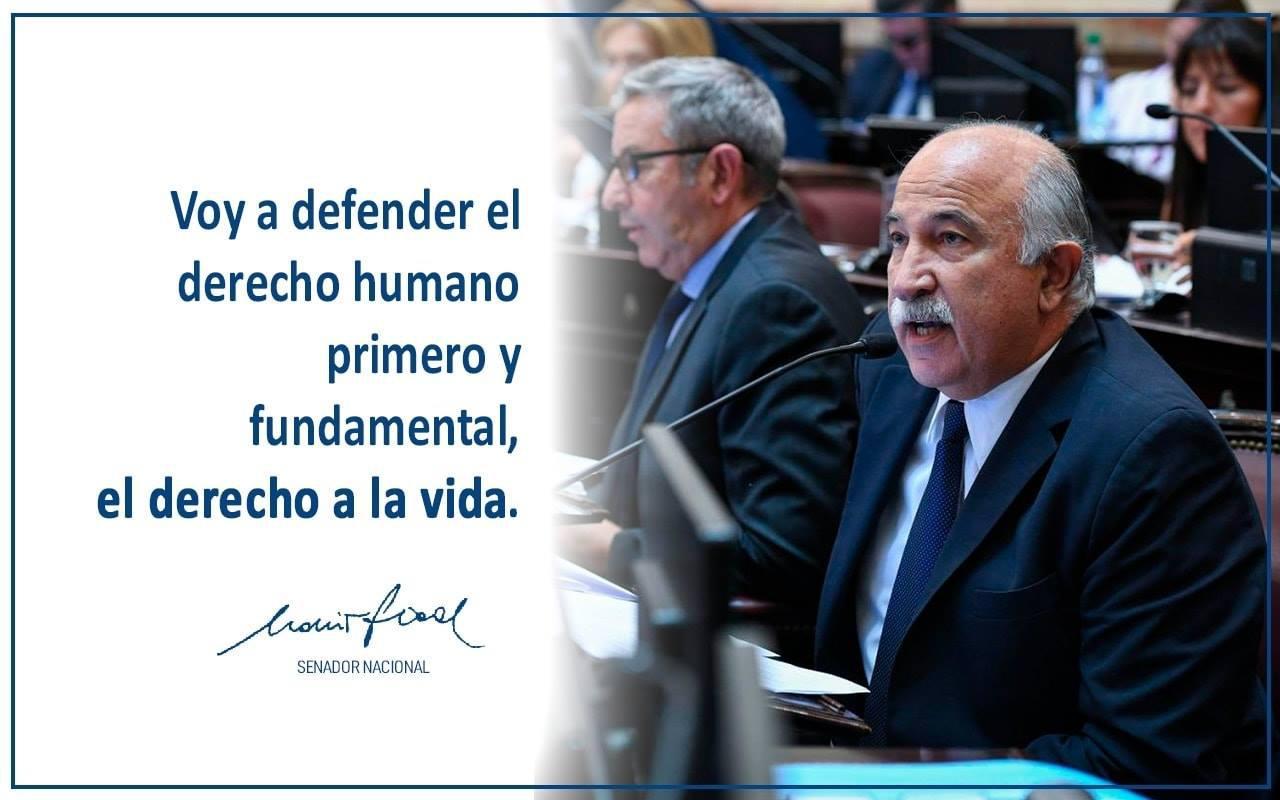 Mario Fiad y su voto sobre el aborto