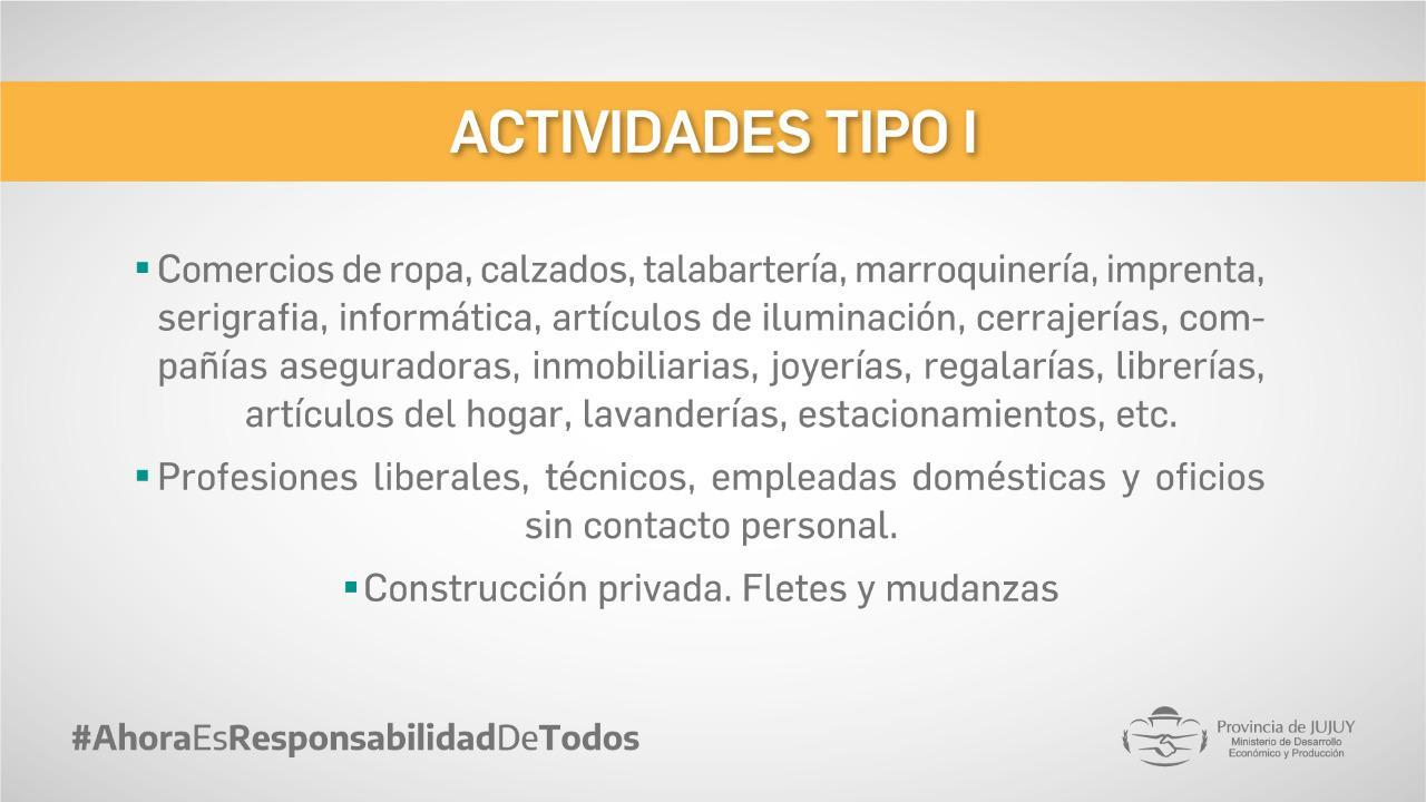actividades tipo 1